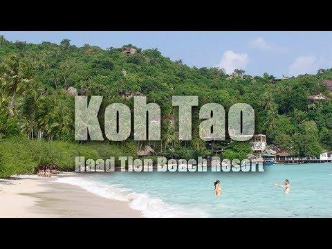 Koh Tao Thailand - Haad Tien Beach Resort (Shark Bay) HD