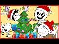 Ryan Sings Jingle Bells with Twin Sisters Emma & Kate ! EK Doodles Christmas Songs !!!