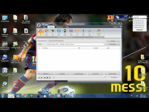 Como convertir archivos M3U, M4A a MP3