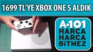 """A101 DEN ALDIĞIM """" XBOX ONE S """" KUTU AÇILIŞI VE ÖN İNCELEME"""