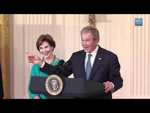 President Bush Hung In White House