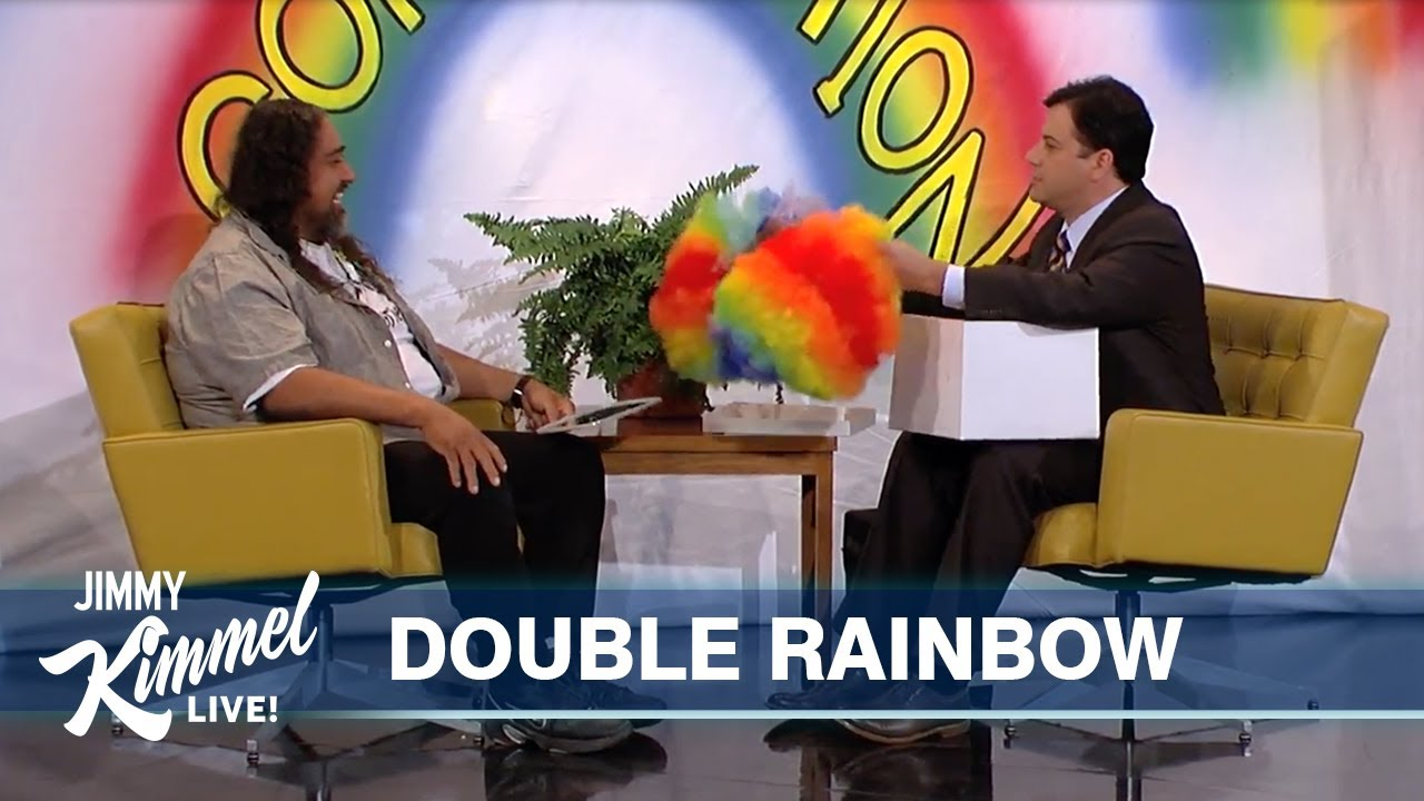 Paul Vasquez, known on YouTube as the 'Double Rainbow' guy ...