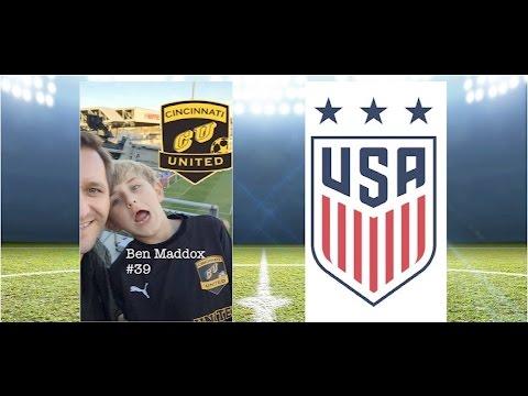 Amazing 8-year-old Cincinnati United soccer star!