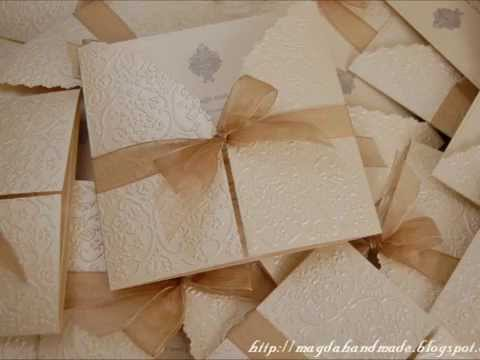 Invitatii Nunta Handmade 1 Handmade Wedding Invitations 1 Www