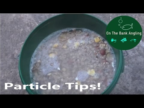 How To Prepare Particle Baits For Carp Fishing