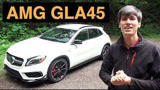 2015 Mercedes-Benz GLA45 AMG - Review & Test Drive Video