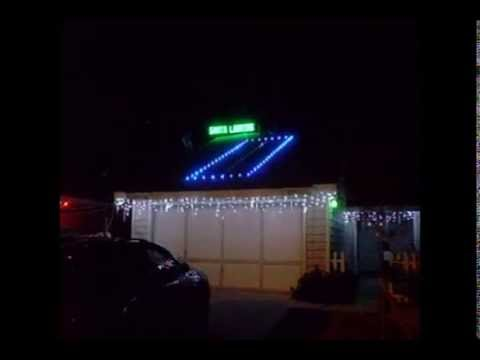 Christmas Runway Lights.Santa Landing Strip Youtube