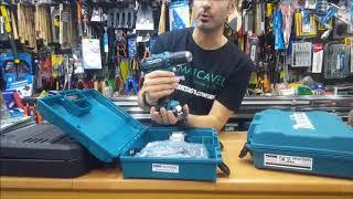 Taladros a batería más vendidos: DF331DSAE MAKITA - NIVEL 18V Li - HP 457DWE MAKITA