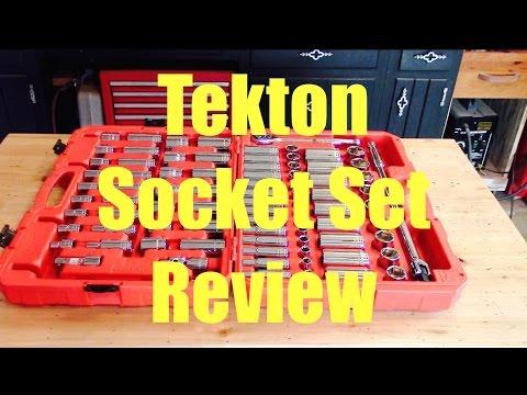 TEKTON Socket / Ratchet Set Tool Review