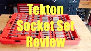 TEKTON Socket / Ratchet Set Tool Review