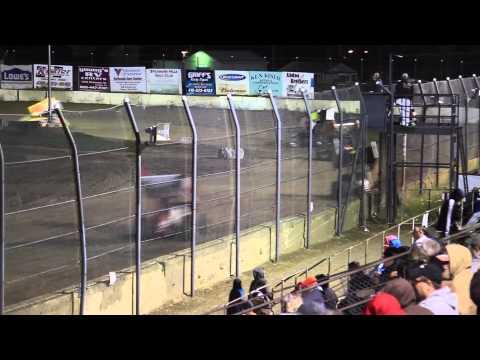 Brian Smith at Fremont Speedway 9-12-15