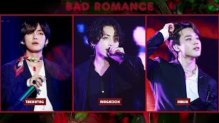 How Would BTS (MAKNAE LINE) Sing BAD ROMANCE by LADY GAGA| MALE COVER