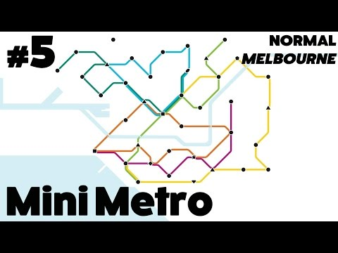 Mini Metro #5 - Normal: Melbourne