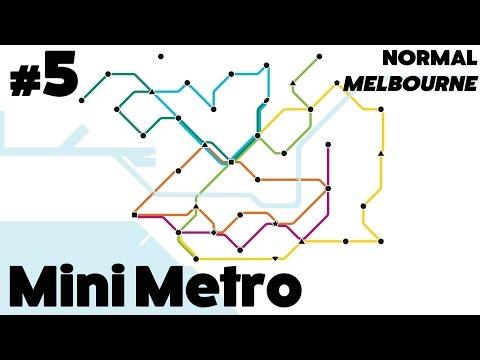 Mini Metro #5 - Normal: Melbourne