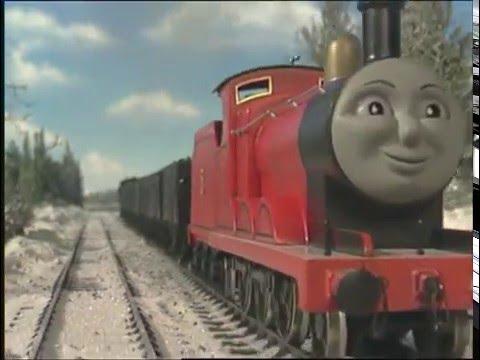 Locomotiva Thomas:James merge prea departe(sezonul 3, ep.5)
