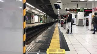 東武東上線 池袋 4・5番線ホームドア設置工事開始前日①