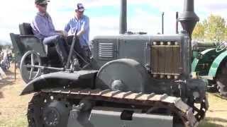1936 Lanz Bulldog Crawler 2013 NHMA Rally Mudgee
