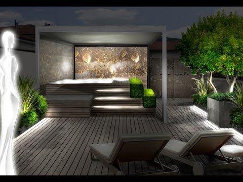 Come progettare un terrazzo raffinato 41 youtube for Terrazzi arredati