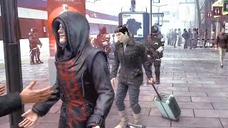 Deus Ex: Mankind Divided — Демо геймплея 25 минут! E3 2015 (HD)