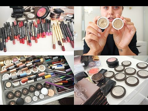 DECLUTTERING MY MAKEUP COLLECTION!
