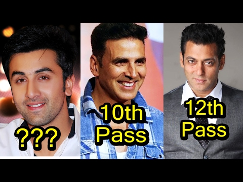 Thumbnail: 6 Very Less Educated Bollywood Actors