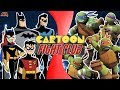 Bat Family VS Teenage Mutant Ninja Turtles (Batman vs TMNT) | CARTOON FIGHT CLUB