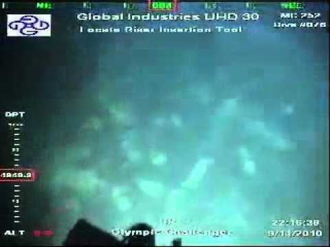 ROV Surveys Deepwater Horizon Wreckage