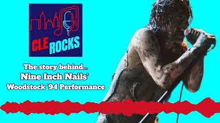 Nine Inch Nails at Woodstock '94: Behind the scenes