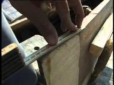 Download Youtube: Splitting a tree and hewing planks - Viking Longship construction