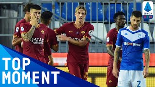 Zaniolo Scores His First Goal Since His Return From Injury! | Brescia 0-3 Roma | Serie A TIM