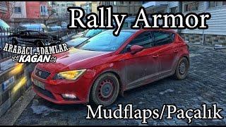 Rally Armor Mudflaps/Paçalık/Çamurluk Seat Leon TDi Nasıl takılır Önler