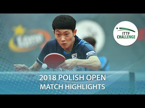 2018 Polish Open Highlights I Kou Lei vs Cho Daeseong (1/4)