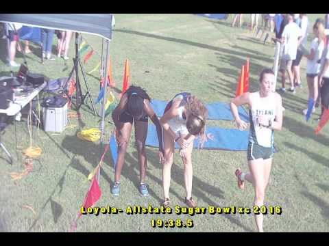 Finish Line Video of Cross Country meet