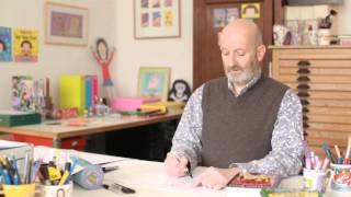Draw along with Nick Sharratt - Diamond