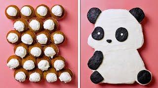 10 Идей для украшения тортов | TOP 10 Cake Icing decorations