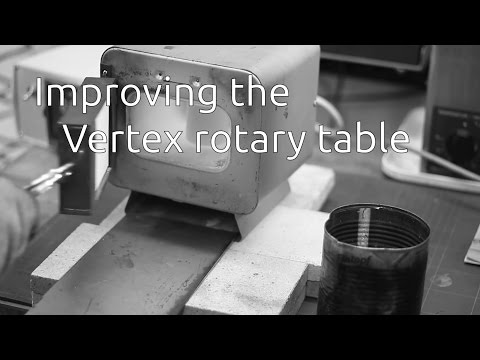 Improving the vertex rotary table - Part 2