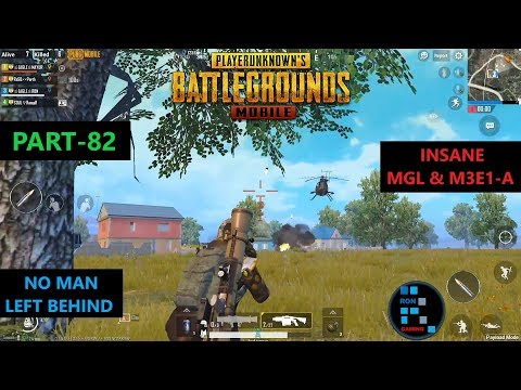 PUBG MOBILE   MGL & M3E1-A GUIDED MISSILE LAUNCHER COMBO IS AMAZING IN PAYLOAD MODE
