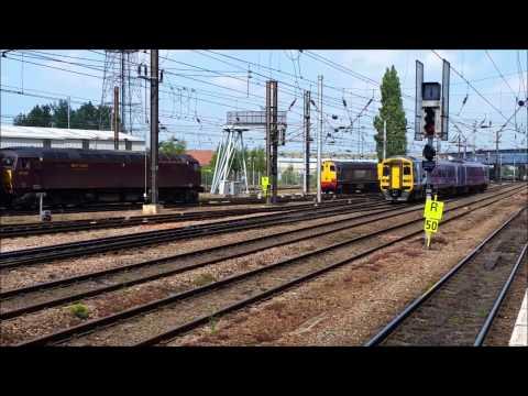 ECML Doncaster Station (Sunday) 18/05/14 Classes 20/47/57/60/66