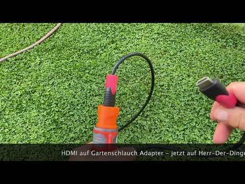 Adapter Für Gardena Auf Hdmi Es Gibt Ihn Wirklich Youtube