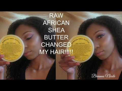 Raw African Shea Butter Review Breanna Nicole