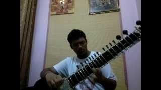 Raga Brindavani Sarang Indian Classical Sitar Music