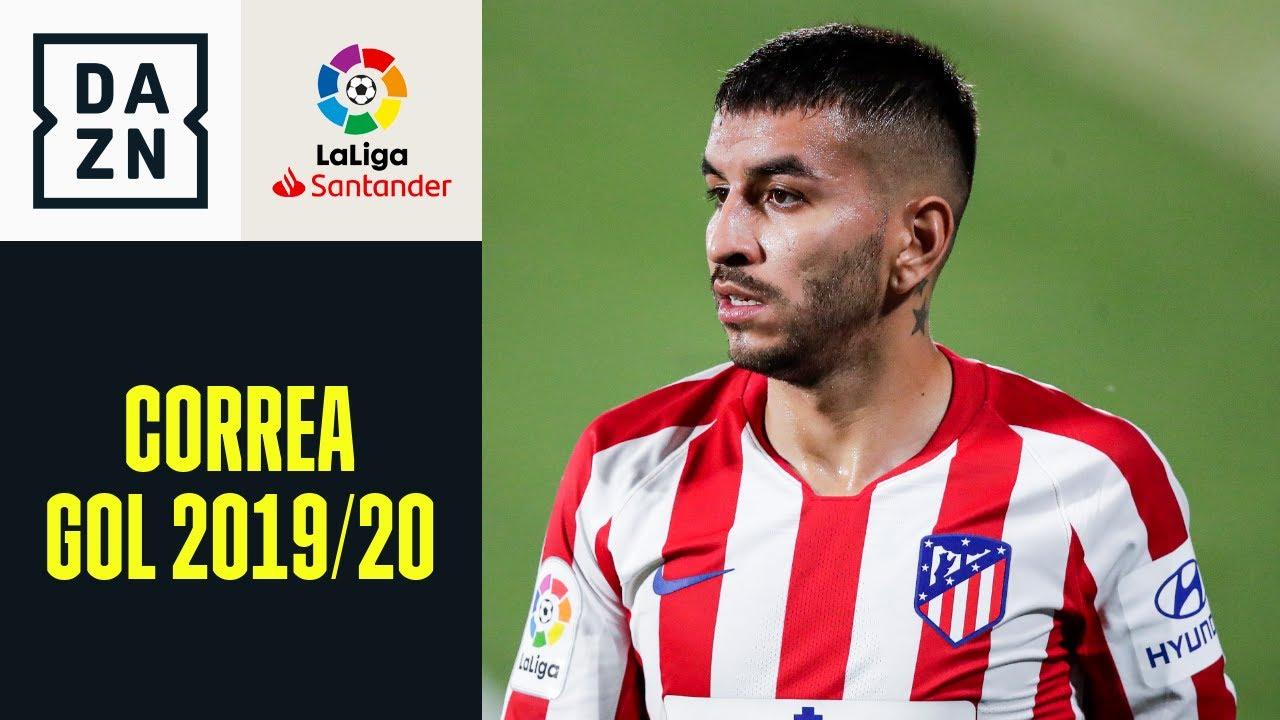 LaLiga 2019/20: tutti i gol di Correa con l'Atletico Madrid
