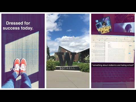 A Day In The Life of a Working College Student - University of Washington