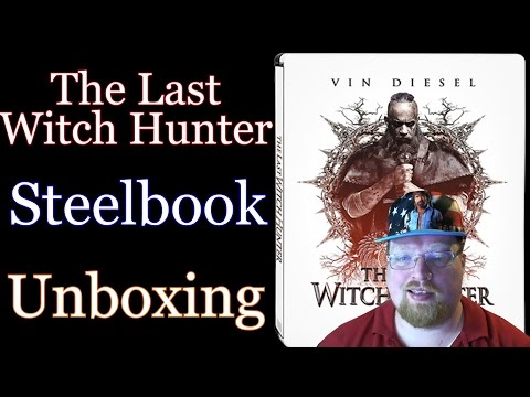 The Last Witch Hunter Steelbook Unboxing (Giveaway Ended)