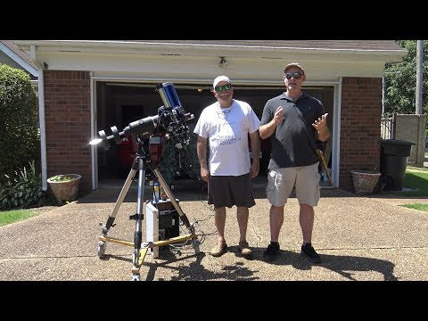 Telescope Tips- Episode 15.  Solar Observing And Imaging.  Memphis Astronomical Society