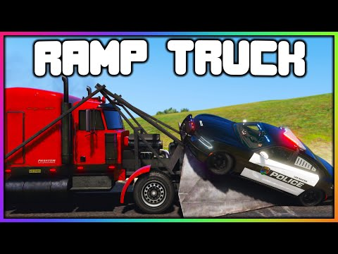 GTA 5 Roleplay - RAMP TRUCK VS COPS | RedlineRP
