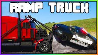 GTA 5 Roleplay - RAMP TRUCK VS COPS | RedlineRP