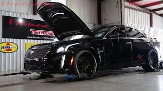 1000 HP Cadillac CTS-V Action & Dyno Testing