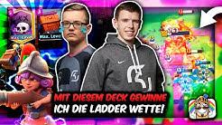 MIT DIESEM DECK GEWINNE ICH DIE LADDER WETTE vs. FLOBBY! | Viel zu OP?! | Clash Royale Deutsch