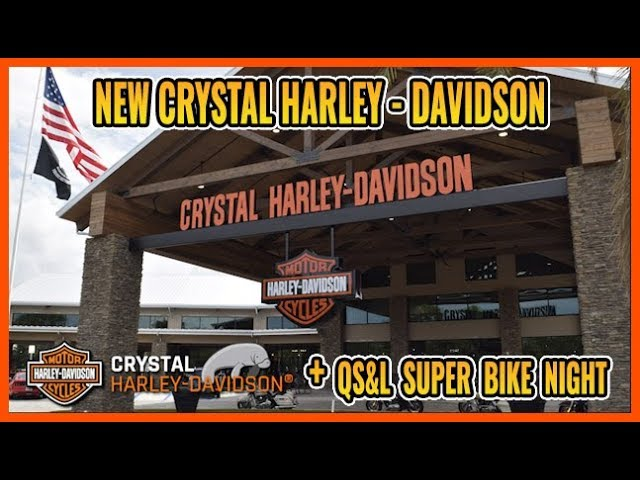 Born To Ride Episode 1210 - Crystal Harley Davidson, QS&L Super Bike Night
